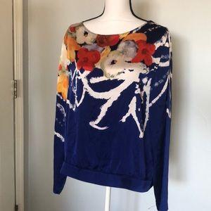 Elie Tahari silk gorgeous tunic
